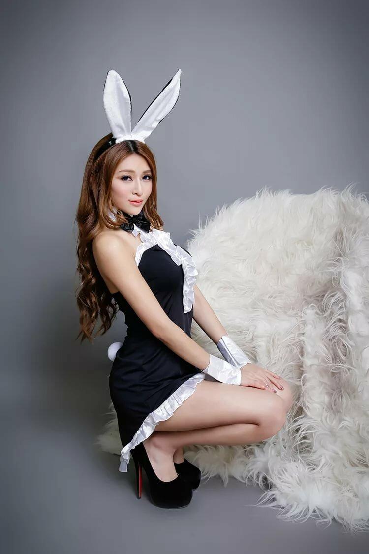 фото в костюме кролика планировкой