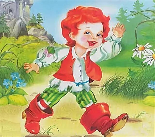 Картинка из сказки мальчик спальчик