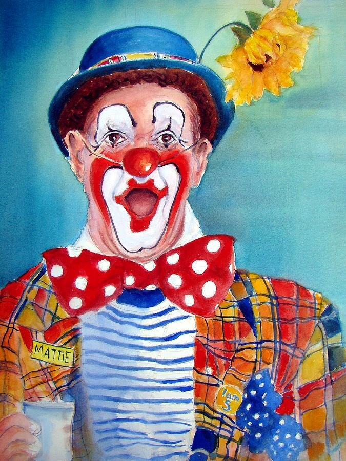 Смотреть картинки клоуна шута