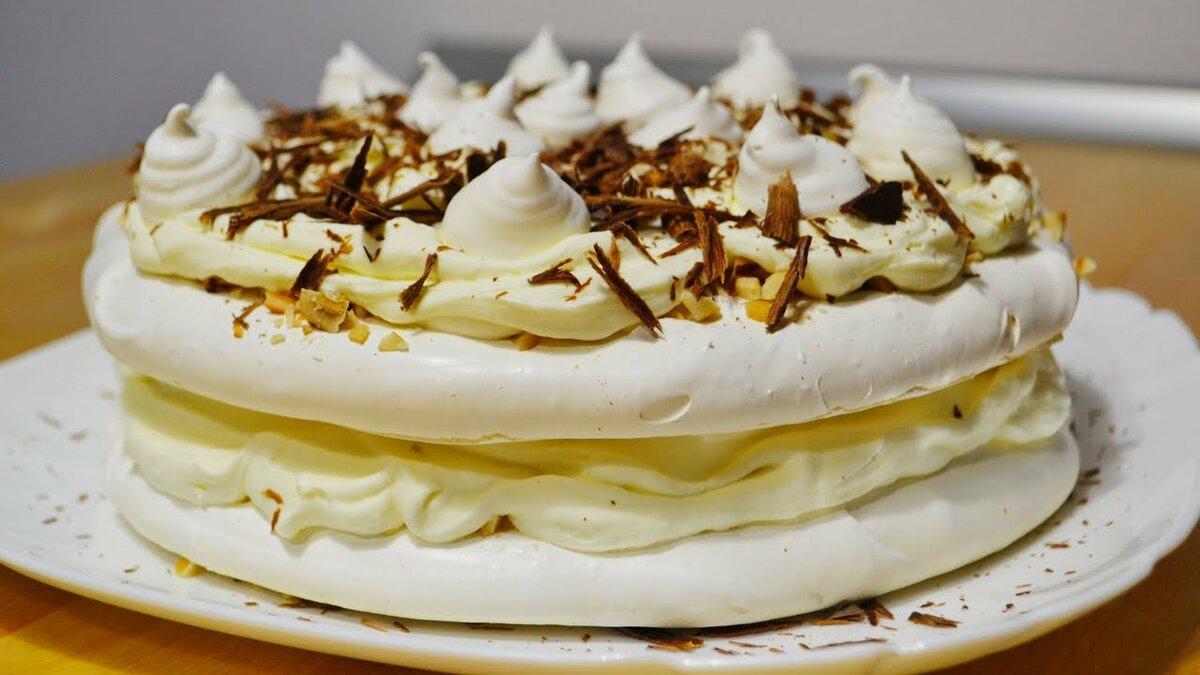 холсте большом торт бизе рецепт приготовления с фото тоже отошел