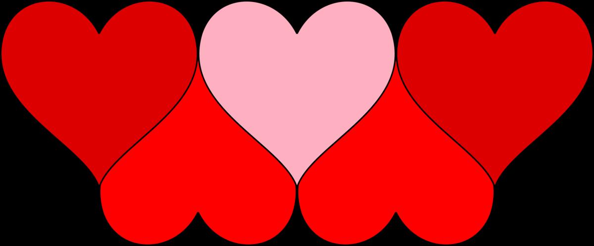Сердечки разных размеров картинки