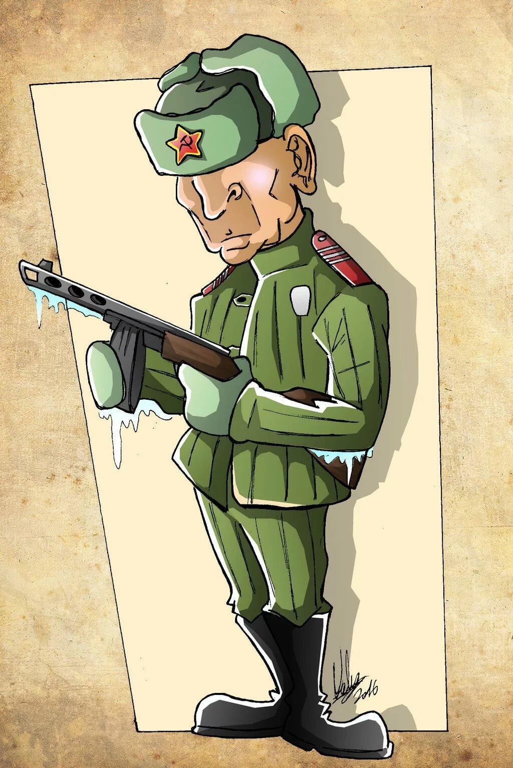 Солдаты в картинках и рисунках