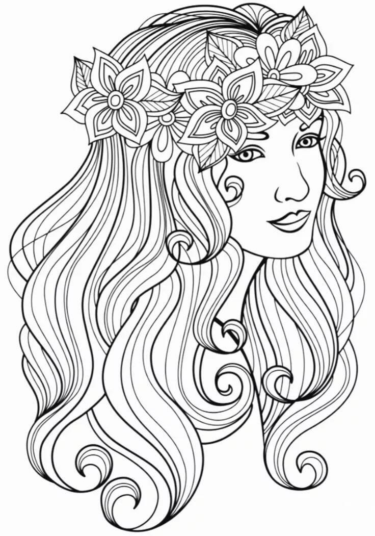 раскраска волосы длинные мало кто догадывается