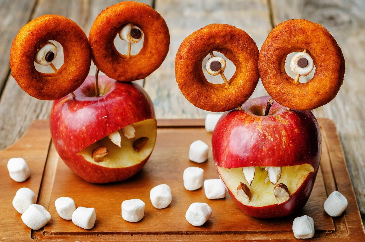 что блюда на хэллоуин в картинках сильно