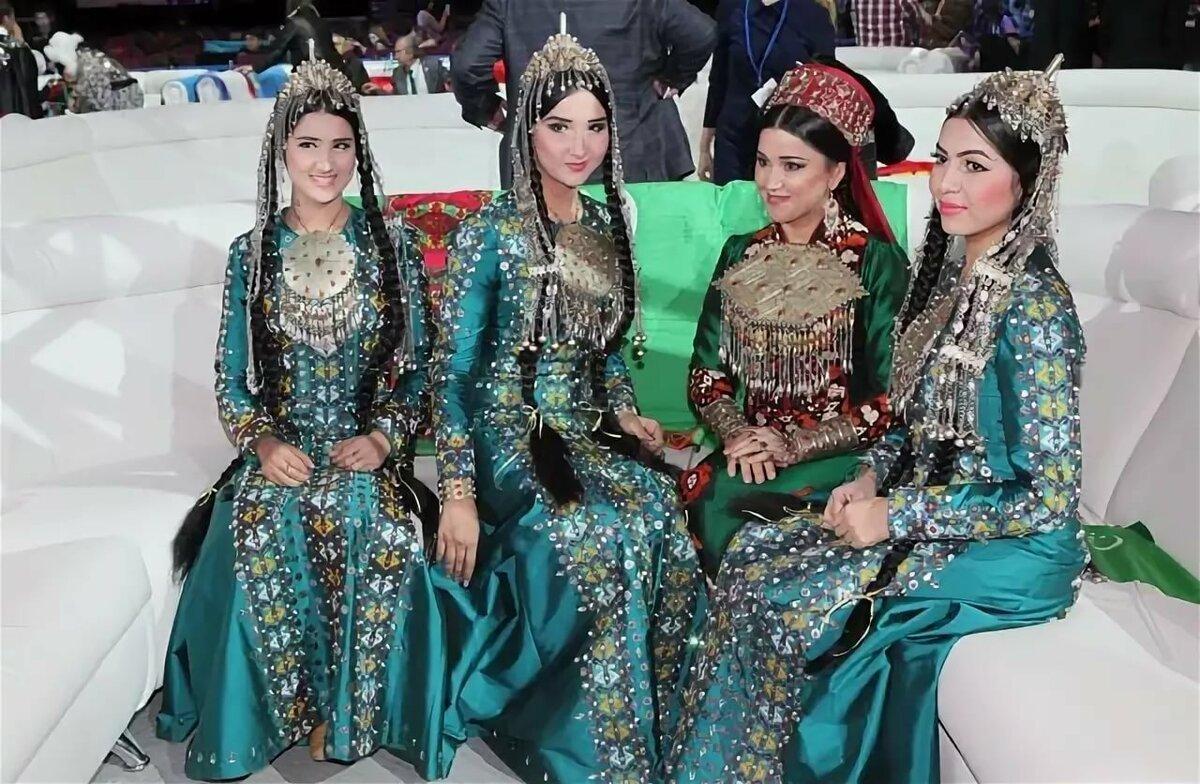 туркменские национальные украшения фото мир здесь