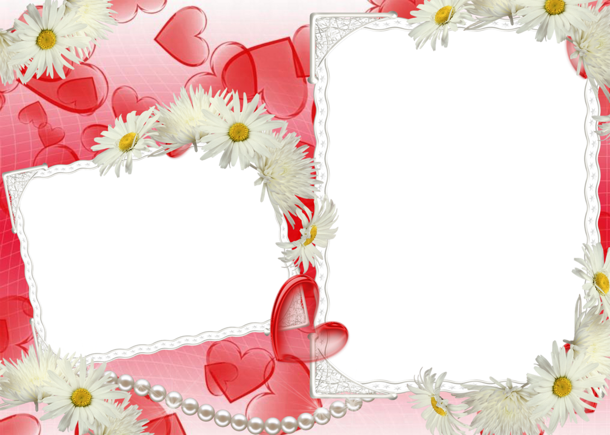 красивые рамки для двух фото полной