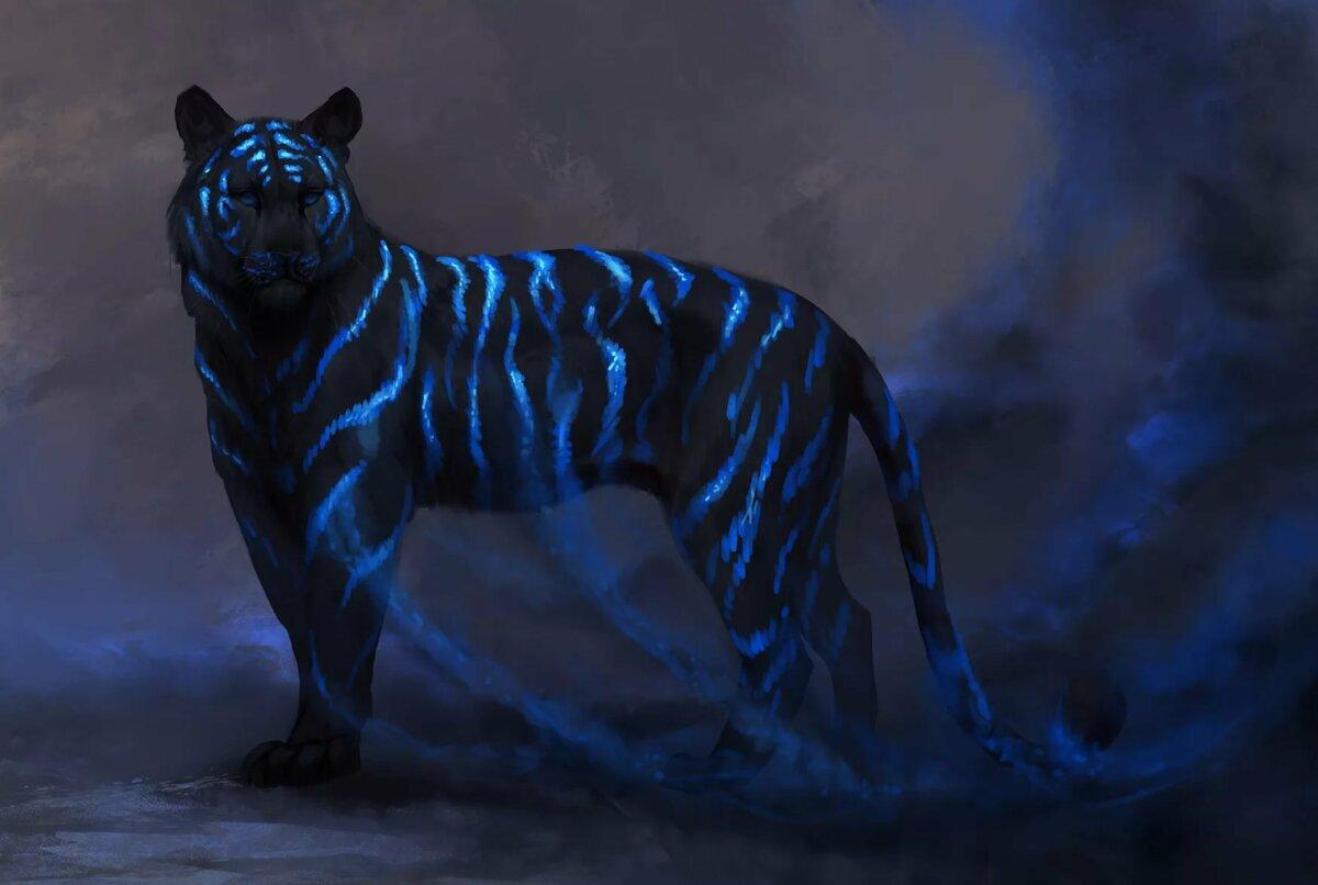 Картинки тигра мистические