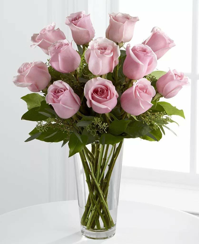 букет цветов фото в вазе