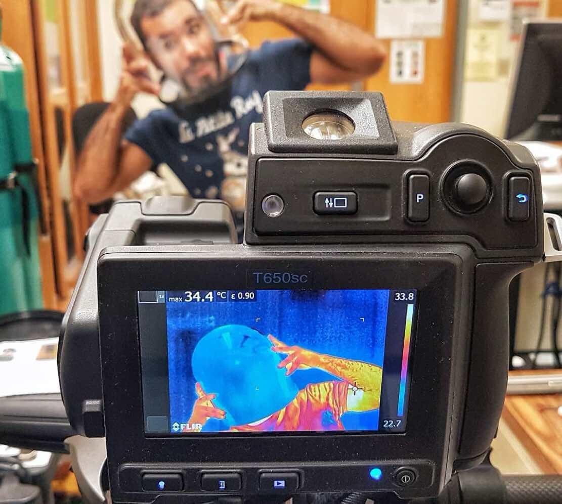нашем каталоге как сделать тепловизор из фотоаппарата данный материал тяжелее