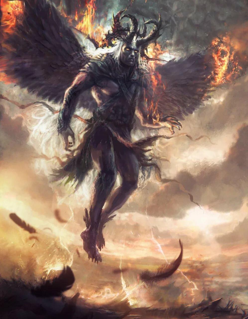 Ангел люцифер картинка