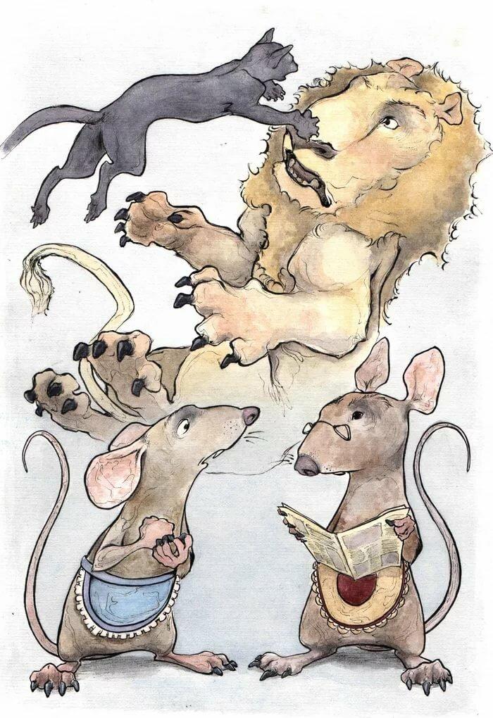 комнату картинка к басне мышь и крыса луффи картинки