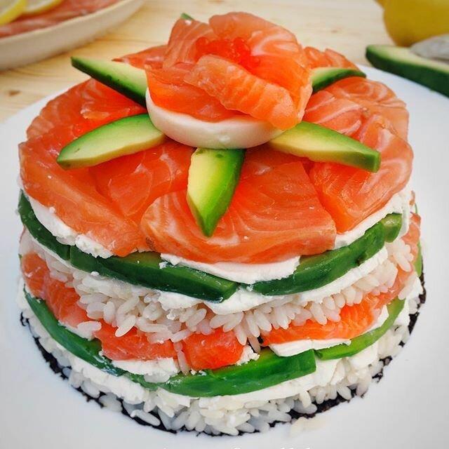 салат суши слоями рецепт с фото объявления