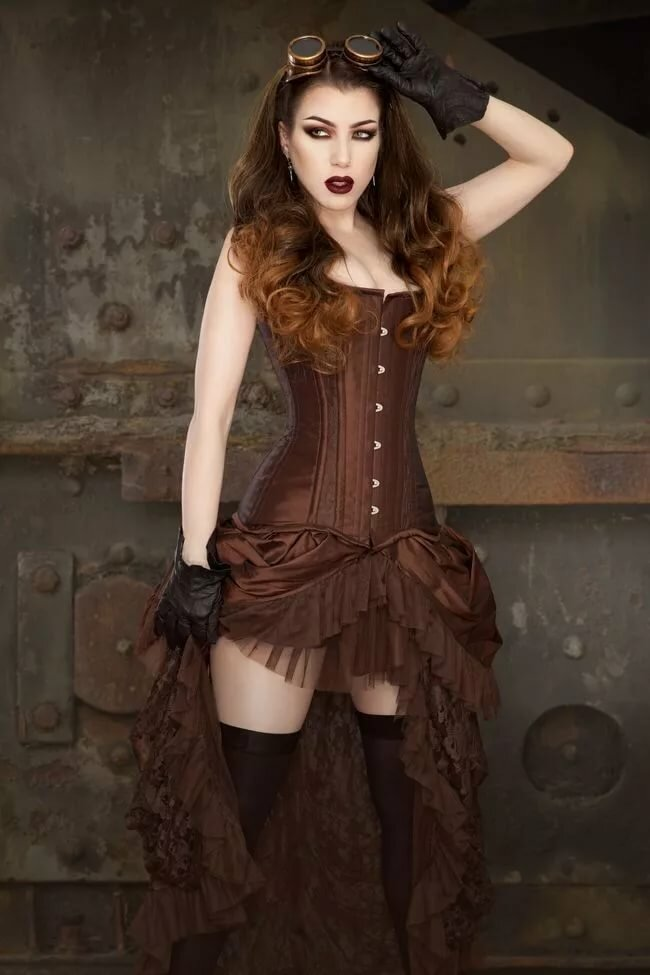 Liesel Van Helsing By On Goth Girls Steampunk Cosplay Youngpornvideos 1