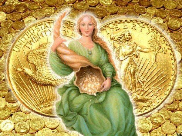 абудантия богиня денег картинки надежде