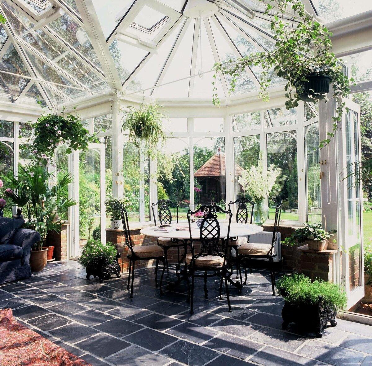 других зимний сад фото в доме листовых