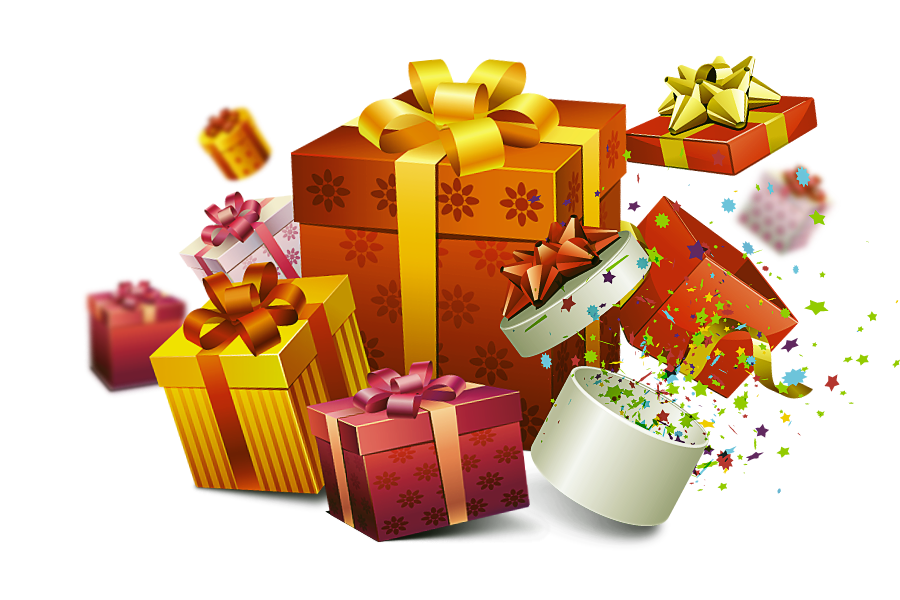 Подарки много картинки