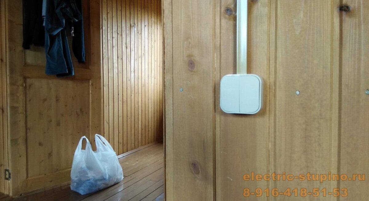 Монтаж электропроводки на даче в частном доме
