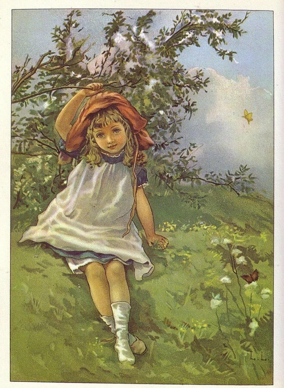 ретро открытки винтаж лето будет