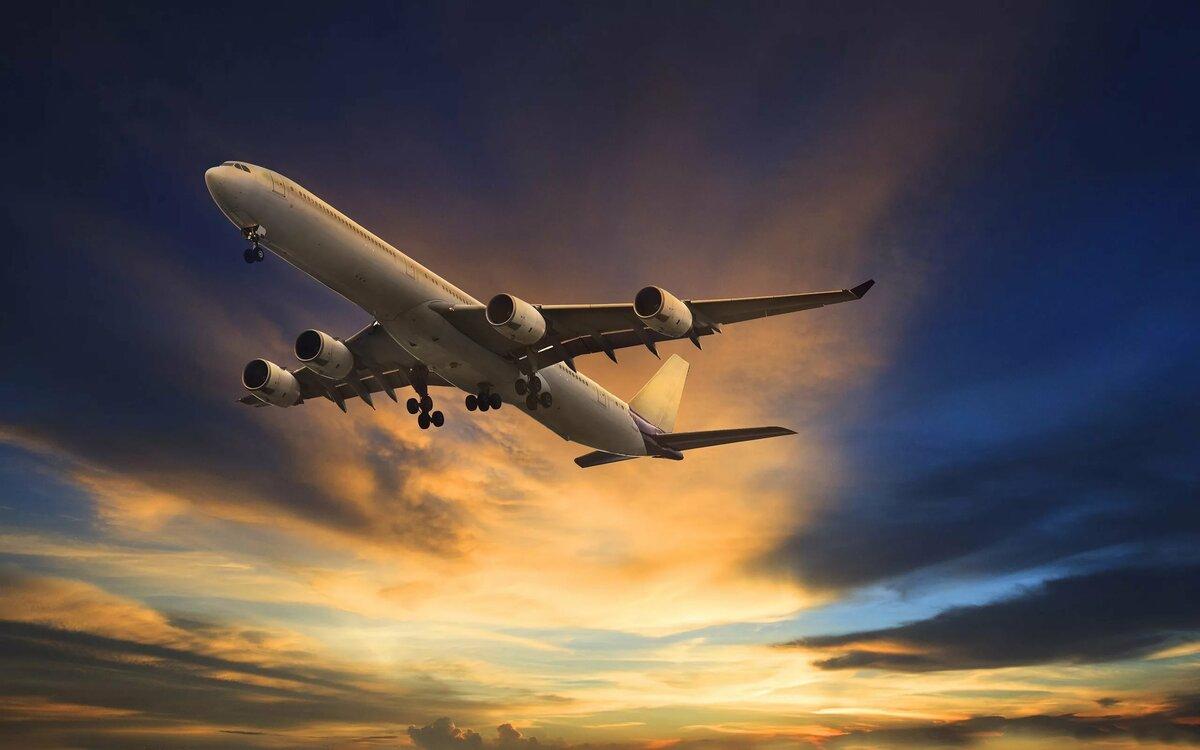 Самолет картинка взлетает