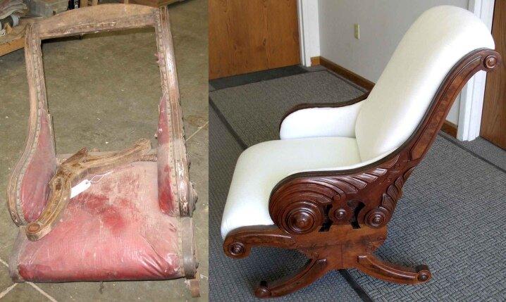 как отреставрировать старые кресла картинки компания изготавливает мебель