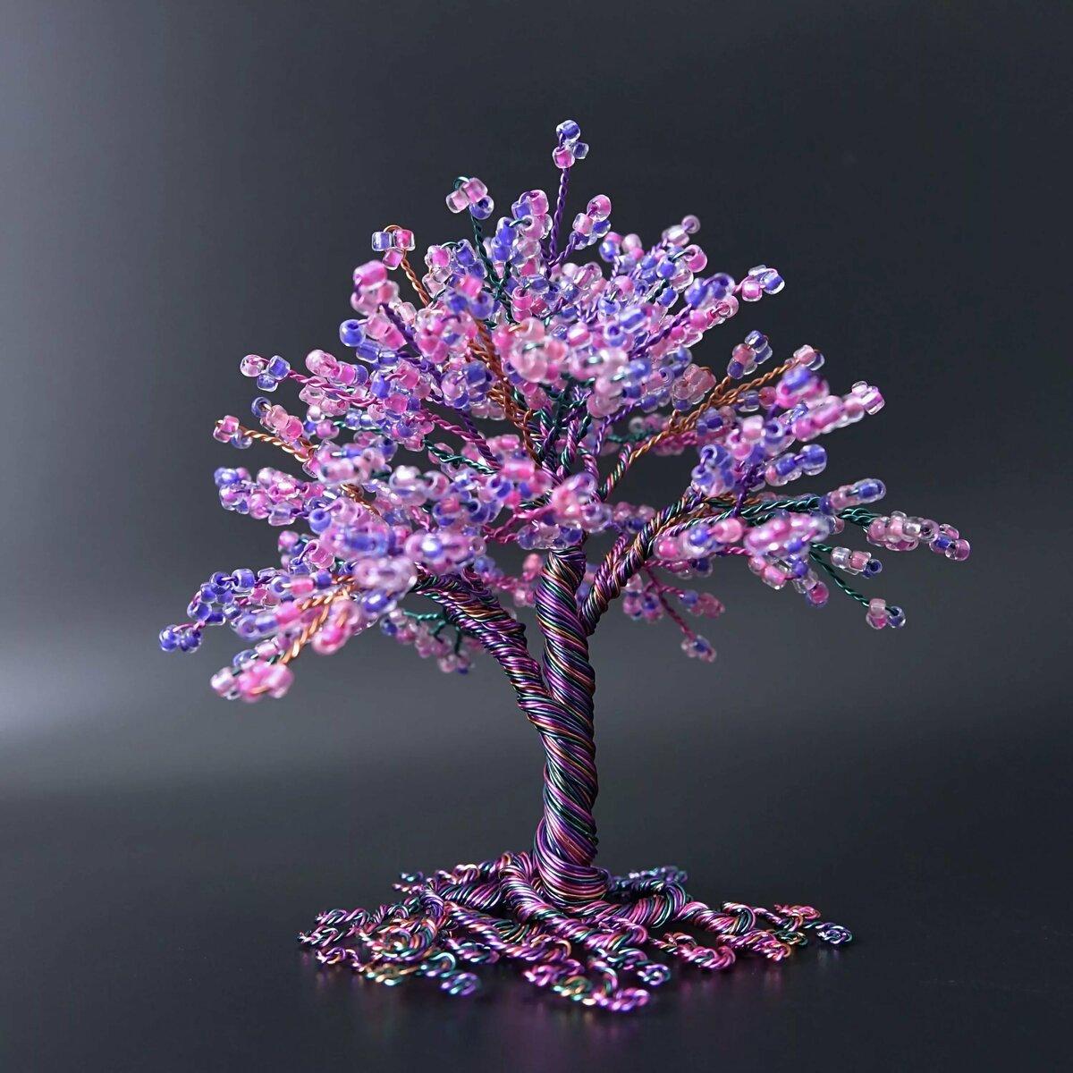 новые деревья из бисера картинки и фото удачно красиво