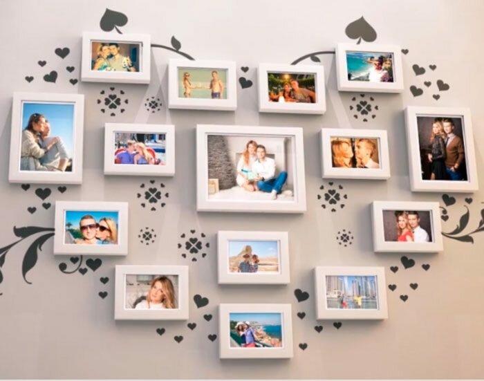 Как сделать красиво рамку с фотографиями