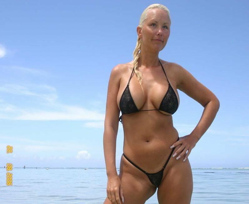 Bikini for mature women