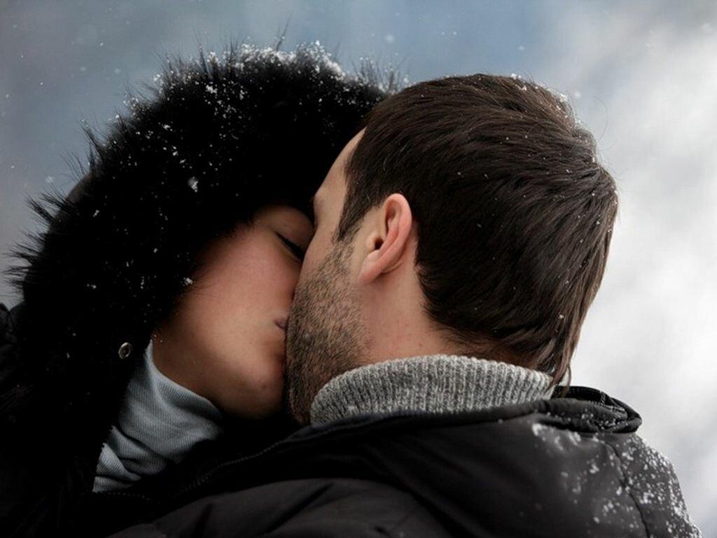 фотографии целующихся пар зимой рецепты