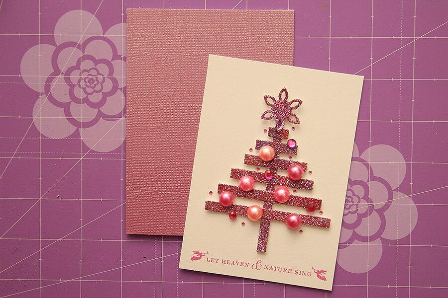Бери и делай новогодние открытки