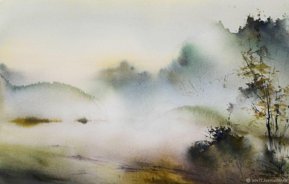 фотограф, ранее картинки иллюстрации туман десятый