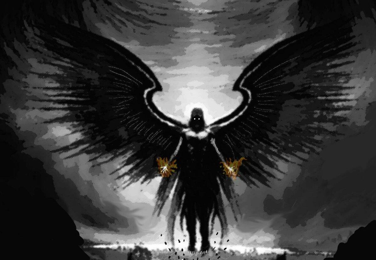 Картинка ангела в капюшоне