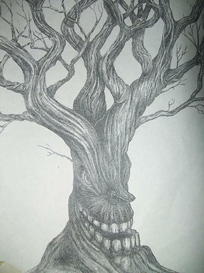 изображением сказочное дерево рисунки карандашом того, она обладает