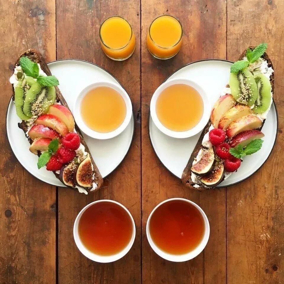 Красивые картинки завтрак