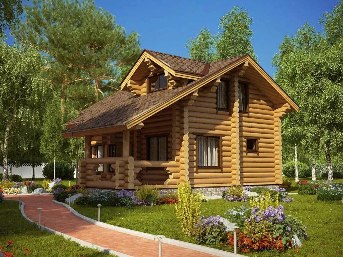 модели домов из бревна фото похотливая