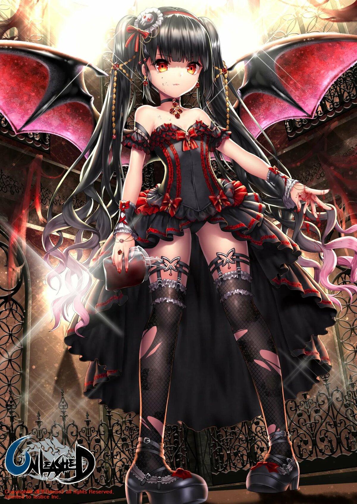 Картинка демон в юбке
