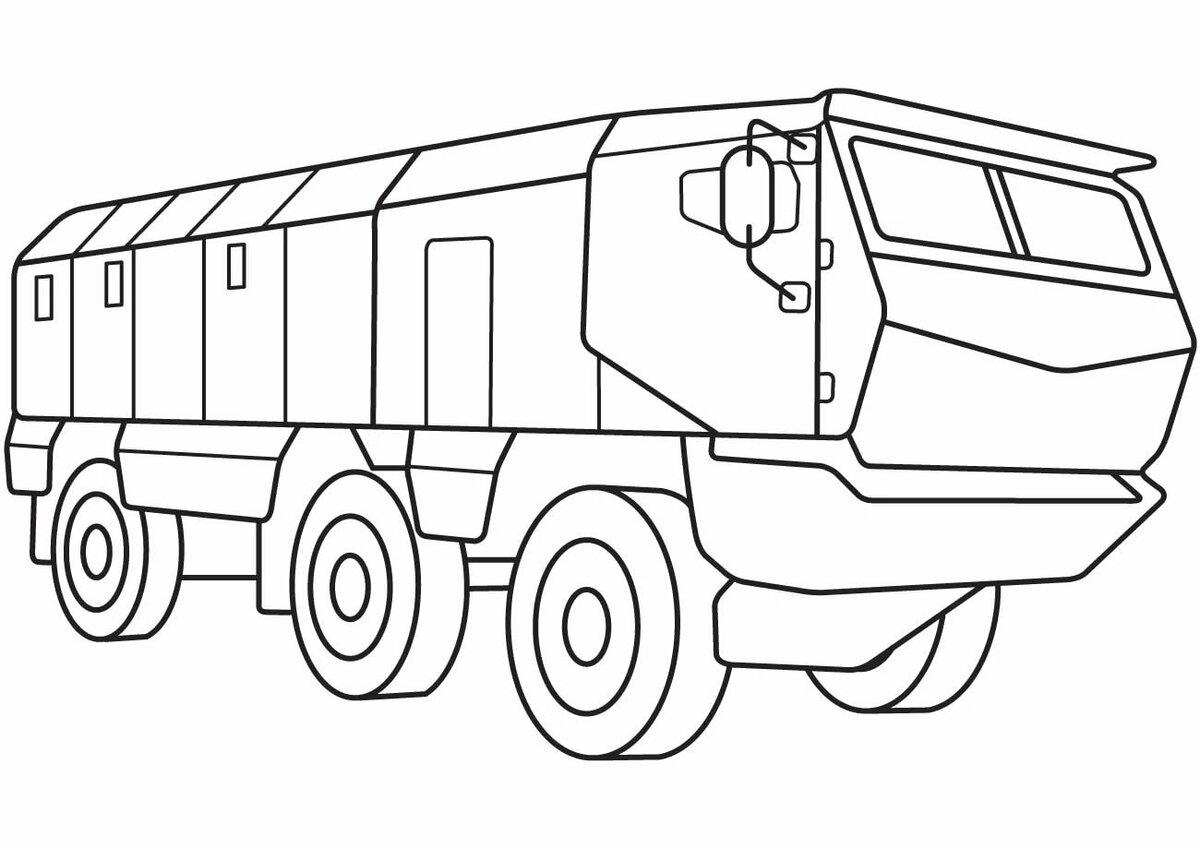 Военная техника раскраска для детей