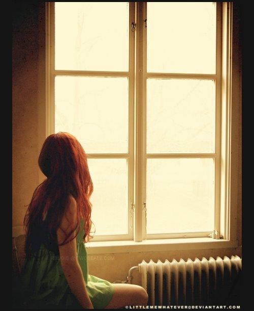 рыжие девушки со спины фото