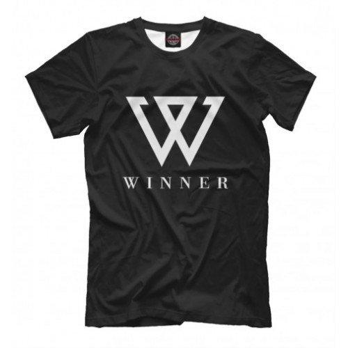 Мужская футболка 3D Winner