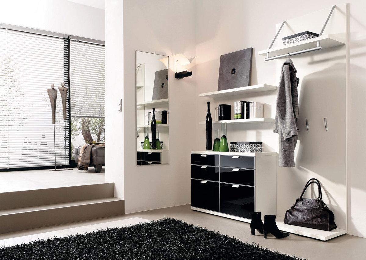 """Черно-белая мебель для прихожей"""" - карточка пользователя ola."""