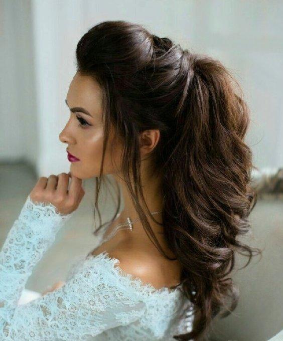 кудри на длинные волосы с начесом