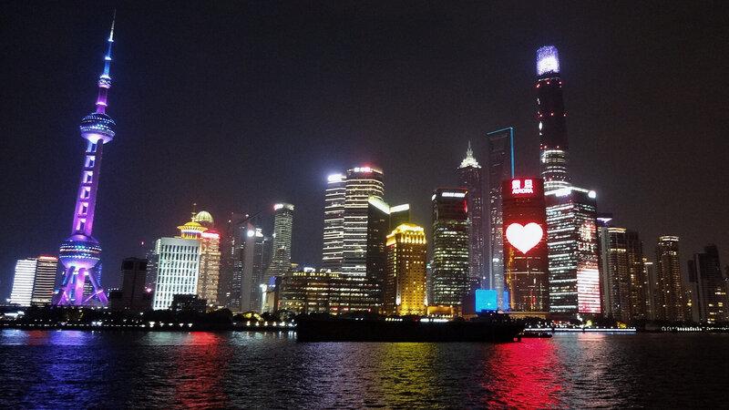 Побережье Шанхая