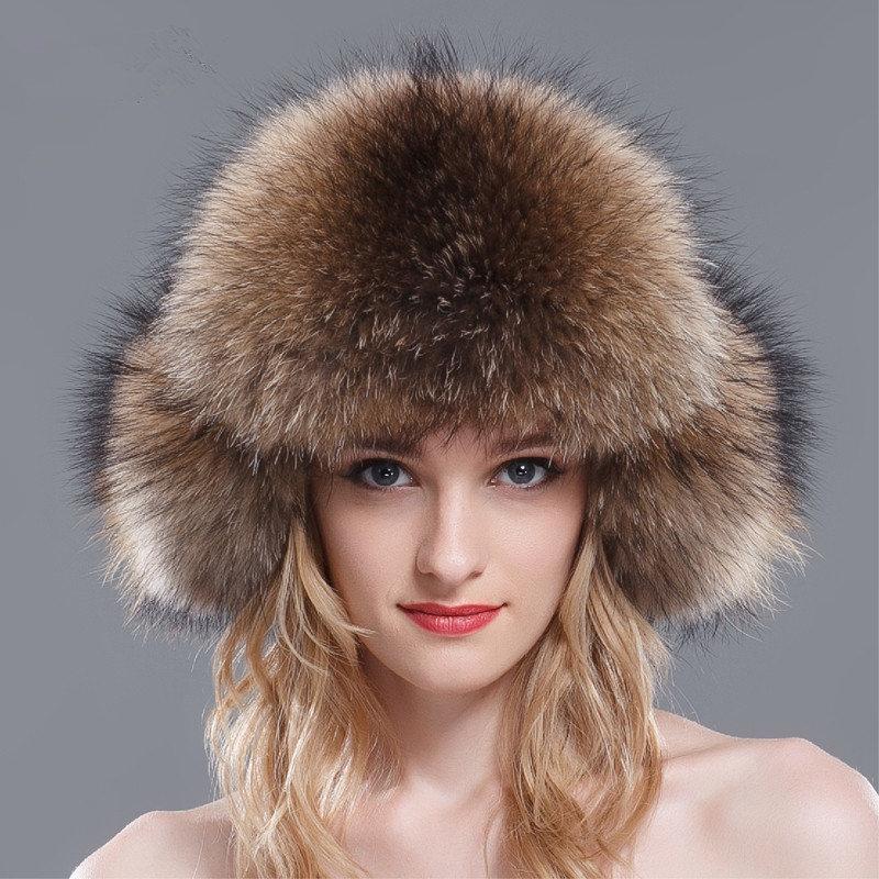Женские шапки с мехом картинки