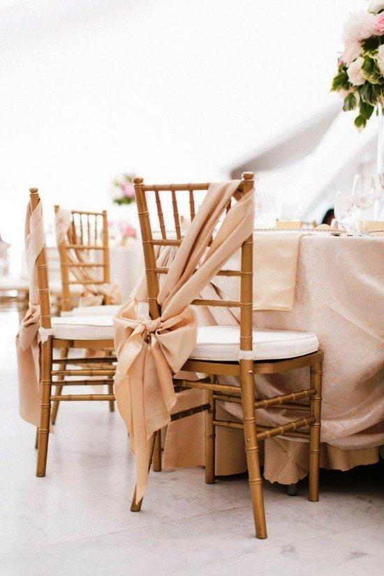 Чехол на стул свадебный своими руками