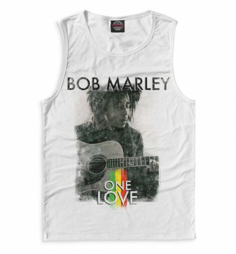 Майка для мальчика Bob Marley