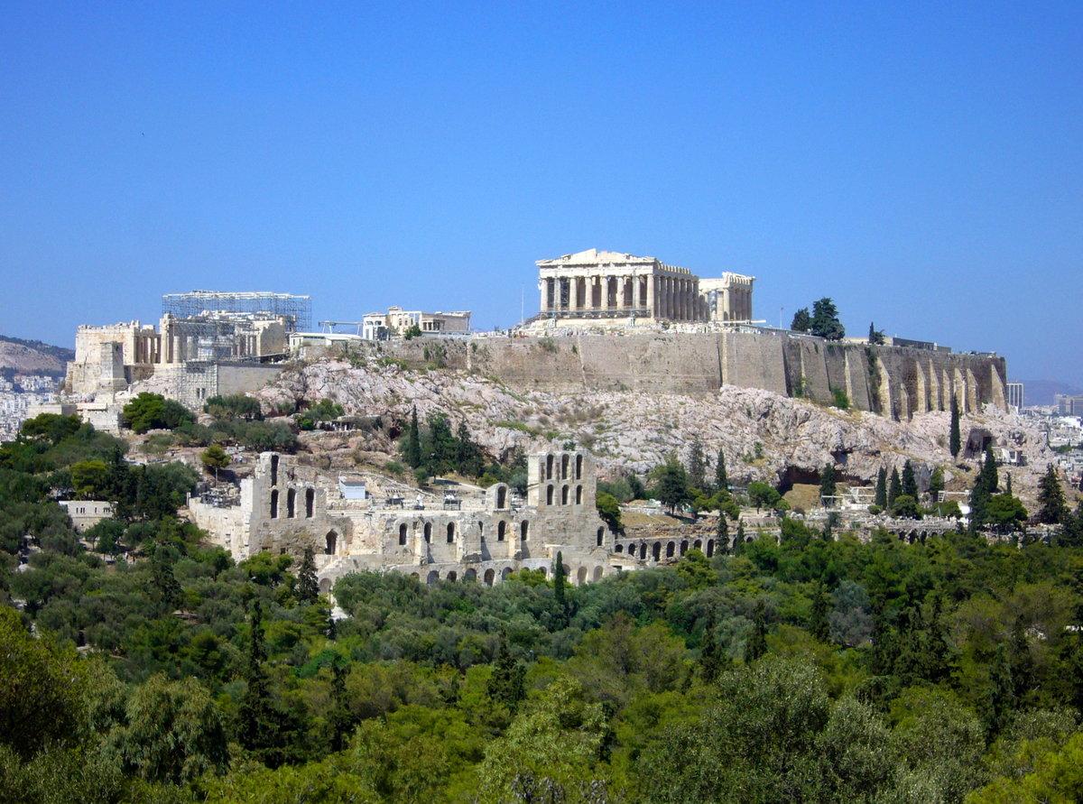 Достопримечательности греции картинки и названия