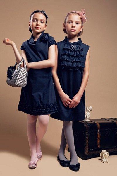 Сарафан - школьная форма для девочки