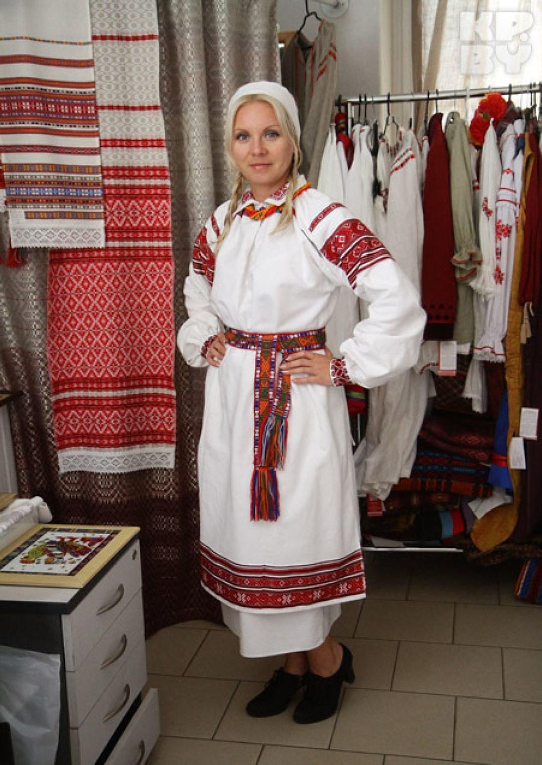 национальный белорусский костюм фото Натрия хлорид