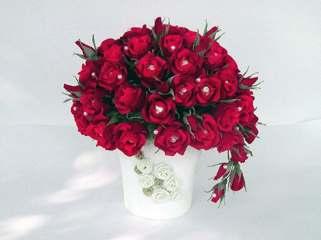 Цветы из конфет - приятный и сладкий подарок