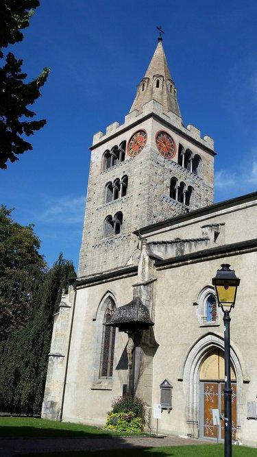 кафедральный собор в безансоне