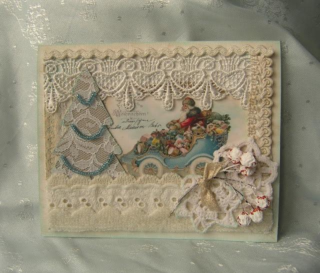 Открытки в стиле скрапбукинг на новый год и рождество, открыток новогодних